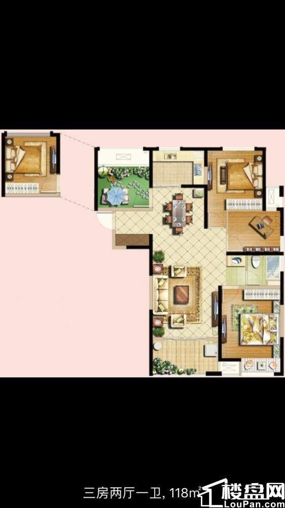 秀山郡 4室2厅1卫