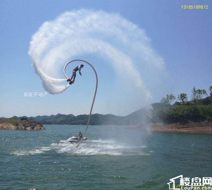 杭州千岛湖 湖景别墅,一手楼盘 享受宁静的水天一色