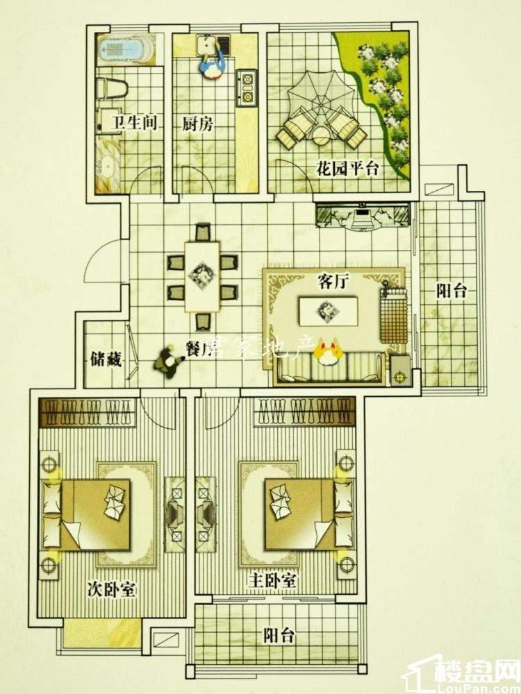君家好房 华夏青城高档小区 精装修保养新 环境优美