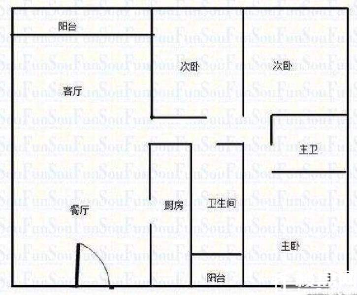 三湘芙蓉电器市场居民楼