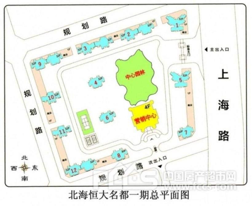 恒大名都(上海路88号)