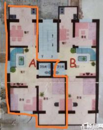 兴华街 和风小区 两居室 2层 精装有两票 南北房 能贷款