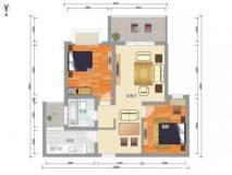 育英學区精装两房单价仅17000,全天采光刺眼,靠江大和欧尚