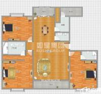 宝洲浦西万达公馆南区 全景看江电梯高层白色系豪装 5800租