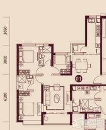 恒大名都三室两厅两卫精装新房新证南北通透能贷款