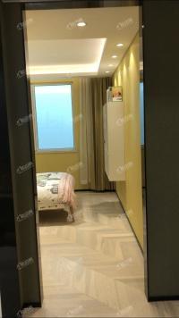 沈辽路 工业大学旁大开发商新房  南北两室 园区优美 准现房