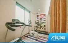 三亚市天涯区三亚湾碧海蓝天小区,61平米1室2厅1卫