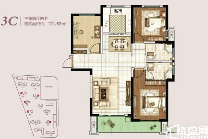 新房推荐,三环旁永威实力开发,双气,河景房,比较适合居住