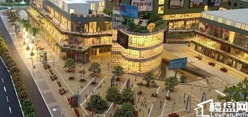 呈贡涌鑫哈佛中心 沃尔玛门口 旺铺33万