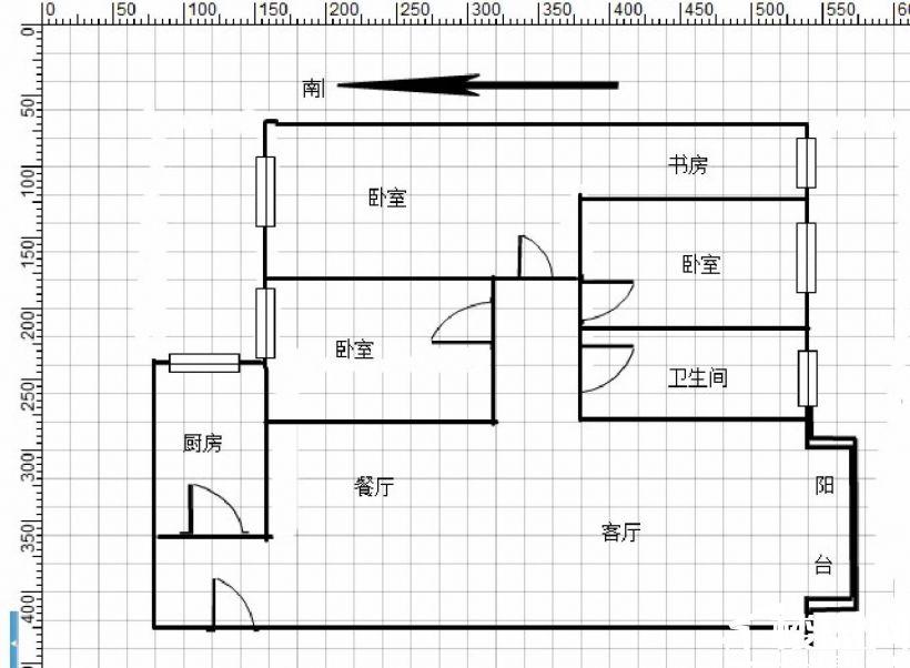 解放门 梅园小区 三室两厅 精装修 户型通透 产权到位可按揭