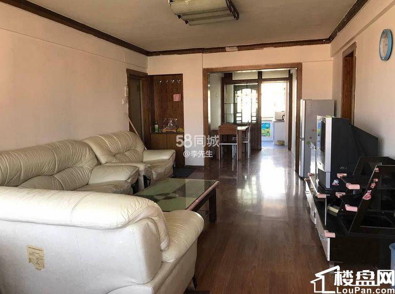 自己亲戚的房子低价出售油运司111平米三室精装南北