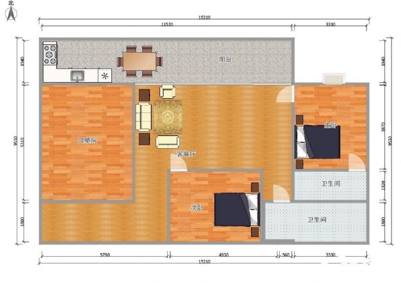 急售商业步行街80平精装修2房可落户低总价划归二附小随时看房