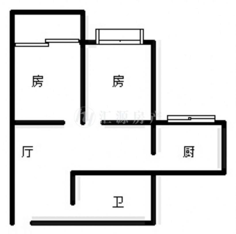 地铁线 世欧王庄四区 标准大两房 并排朝南