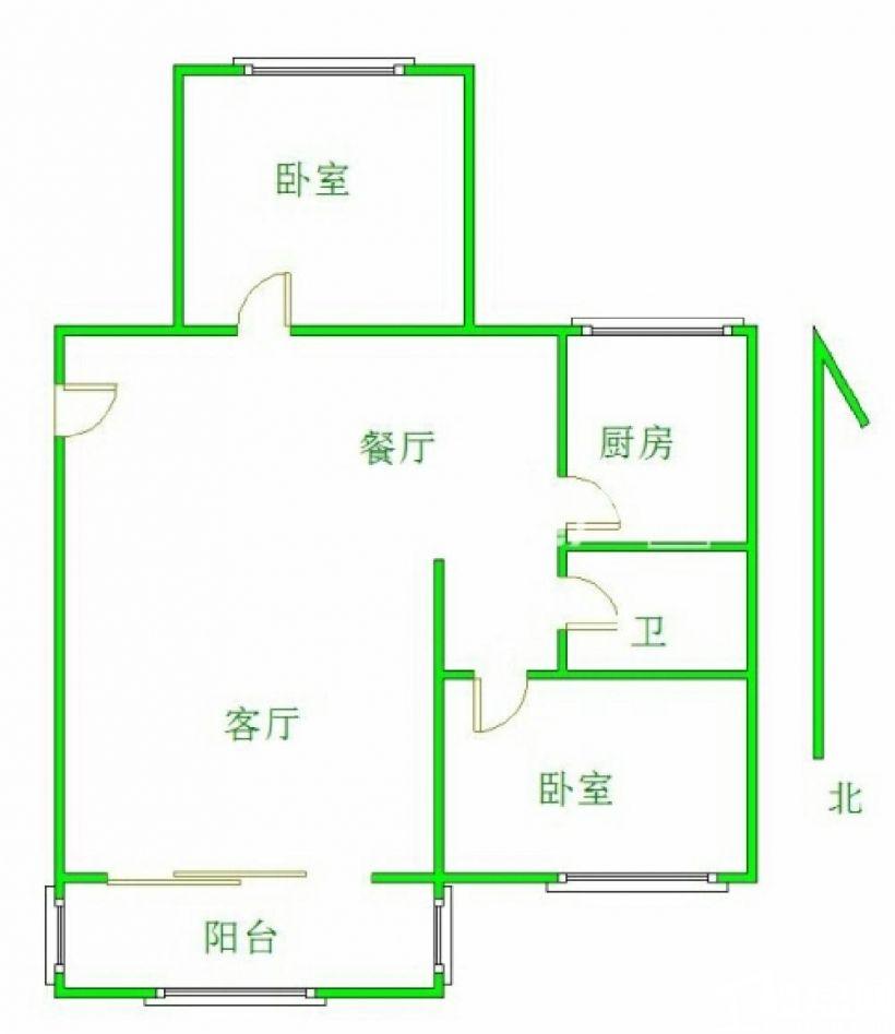 赠送阁楼,精装修,南北通透,房本92,实际150平米赠送阁楼