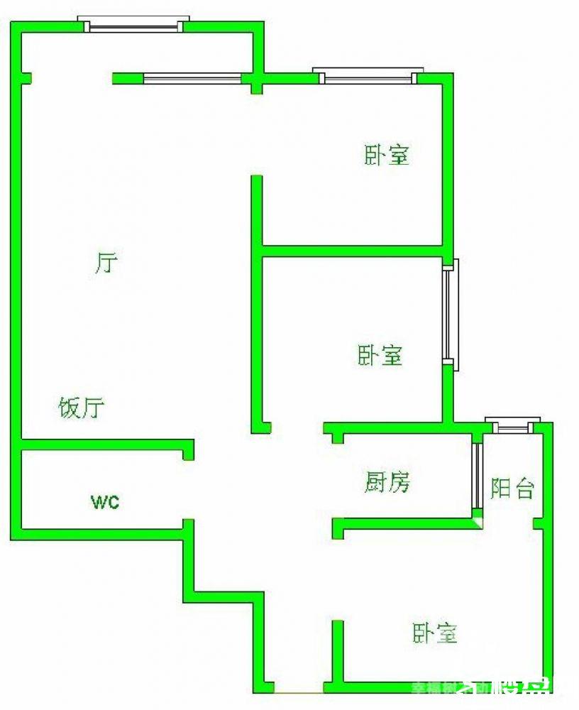 急租蓝波湾河滨公园金岸玉都精装3房拎包入住 仅租3200每月