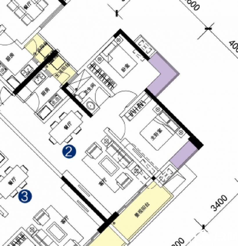 芳草地小学30米 精装修家电家具齐全 拎包入住 随时看房