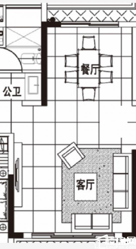旁 精装修公寓 北京东路边上 家电家具齐全 随时入住