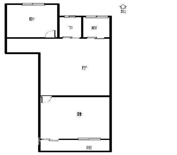 乐园小区 有杂物间  两房  简装 2000,先到先得