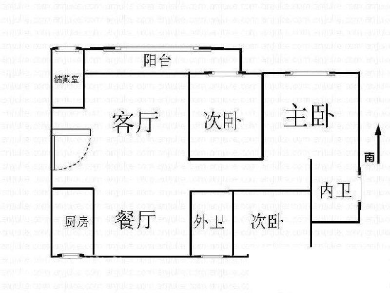 国货路,电梯高层实木装修,大三房,端头户型,随时入住。