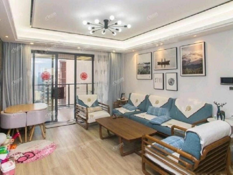 京基城三期 精装4房2厅高层 视野开阔 南北对流
