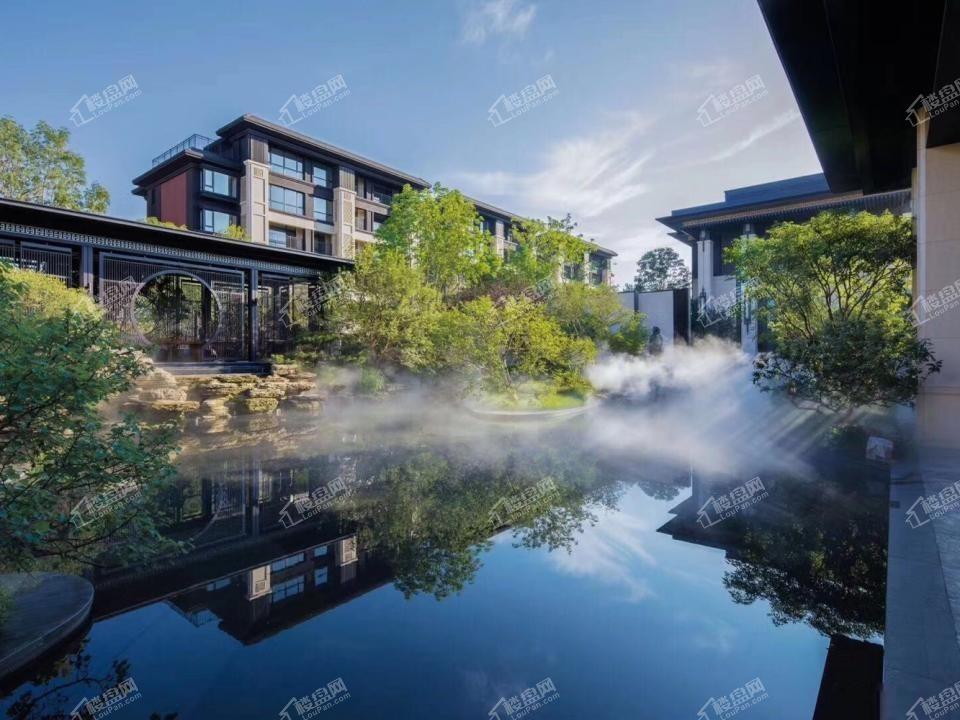 龙湖双珑原著     自然环境     河景房 叠拼别墅