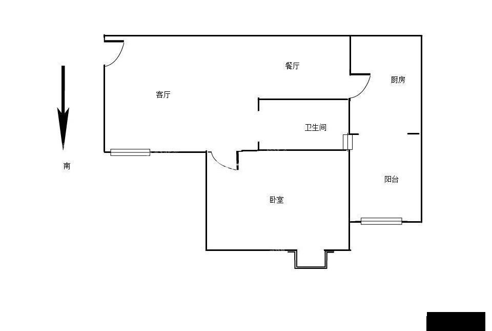 大华南湖公园世家精装单间拎包入住