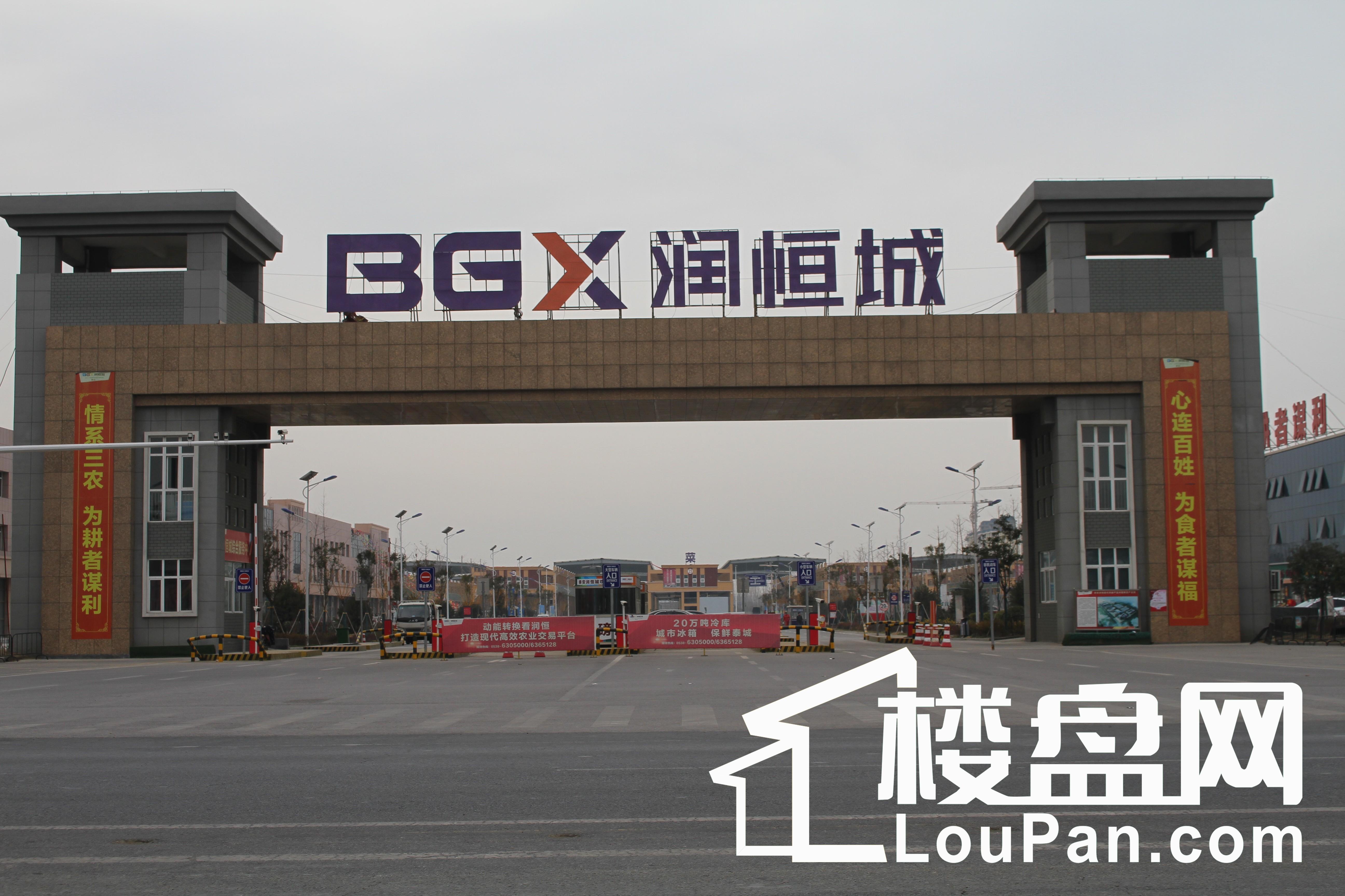泰安润恒城实景图