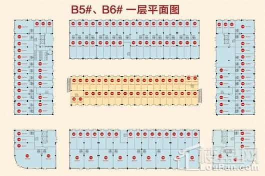 中恒蚌埠义乌国际商贸城户型图