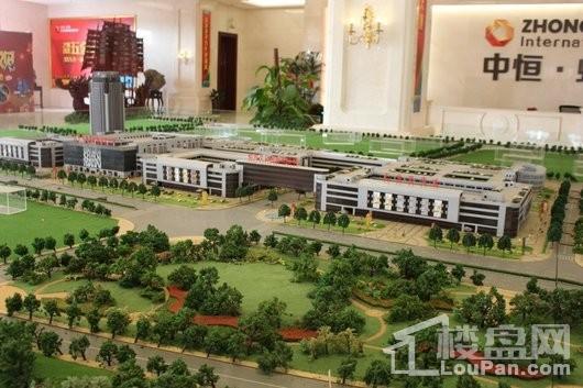 中恒蚌埠义乌国际商贸城实景图
