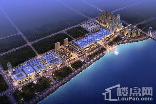 中恒蚌埠义乌国际商贸城二期整体鸟瞰图