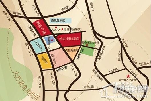 绅达·国际豪庭交通图