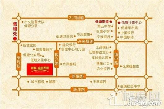 杭州湾金色黎明交通图