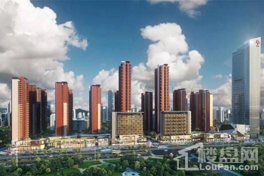 大中华·幸福城效果图