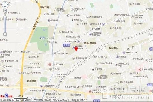 齐鲁创新谷·晶格广场交通图