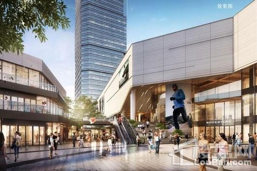 万象汇商业中心2#效果图
