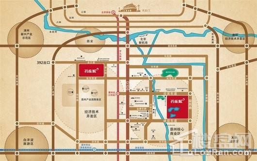 温泉新都孔雀城交通图