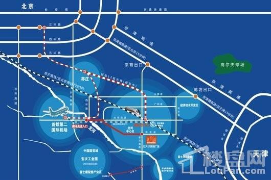 大拇指广场·剑桥公馆交通图