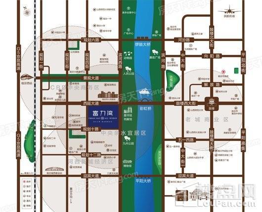 临汾富力湾(含装修)交通图