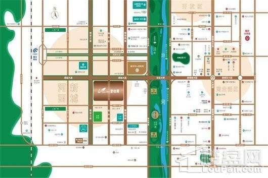 临汾碧桂园(含装修)交通图