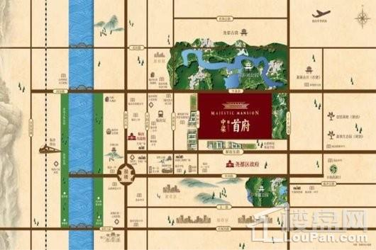 临汾中梁·首府交通图