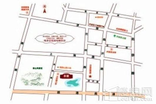 文华园交通图