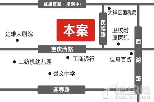 众鑫科技苑交通图