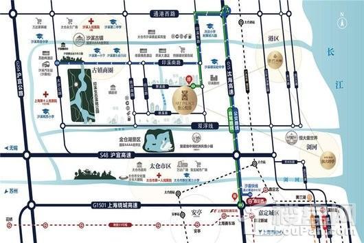 依云悦府交通图