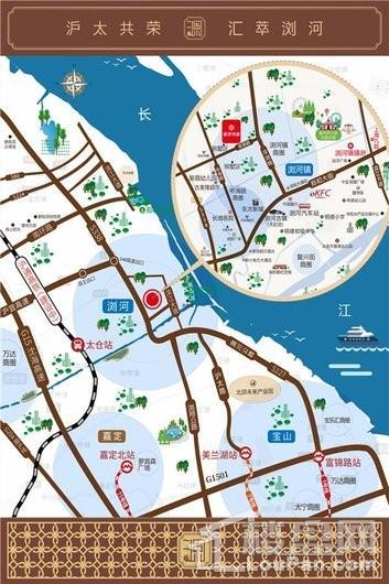 翡翠观澜交通图