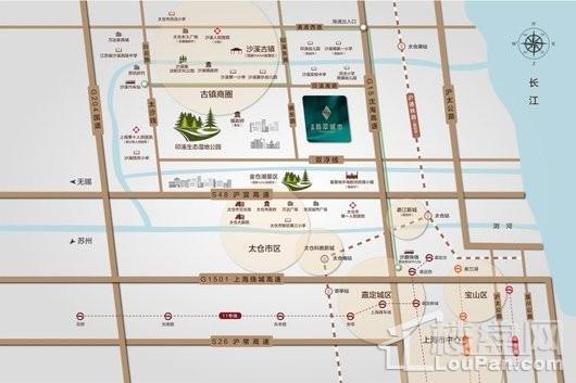 金地翡翠城市交通图