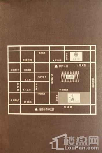 荣盛华府交通图