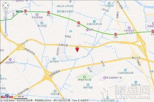 中堂嶺寓交通图