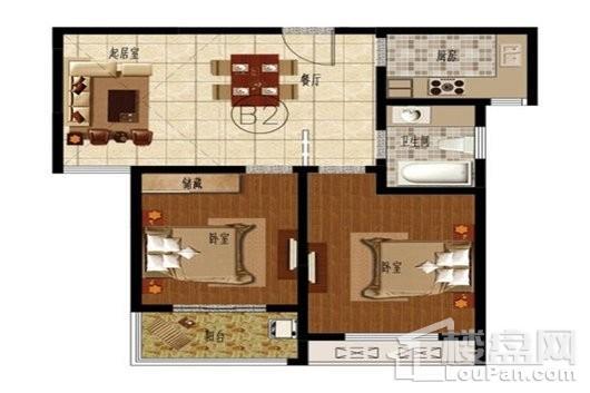 寺头家园三期户型图