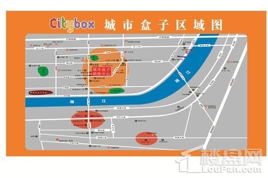 湘潭城市盒子citybox交通圖