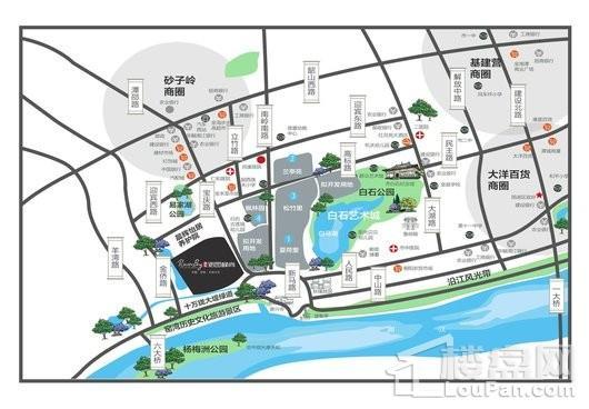 沁园·峰尚二期交通图